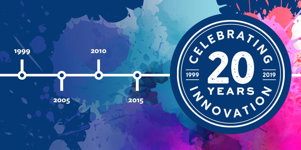 Celebrating 20 Years of Innovation 1999-2019