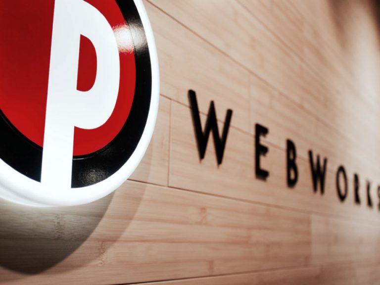 PWW Logo in Lobby