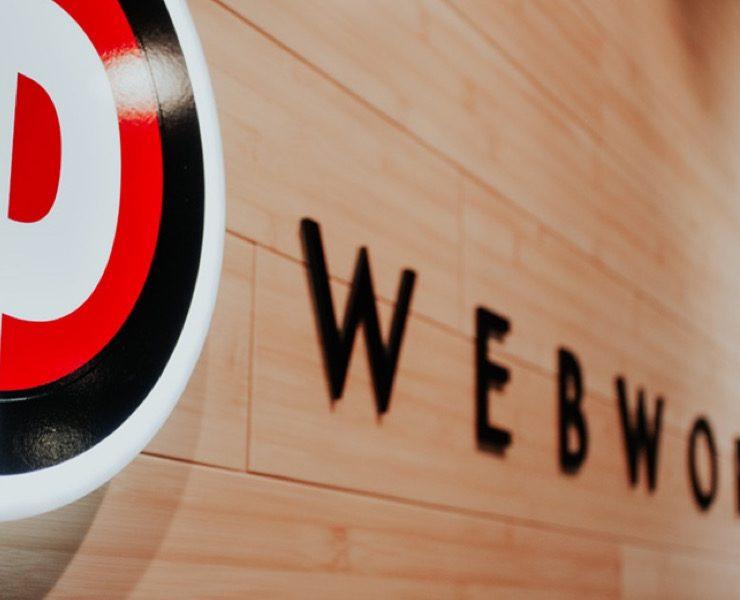 Portland Webworks entry sign